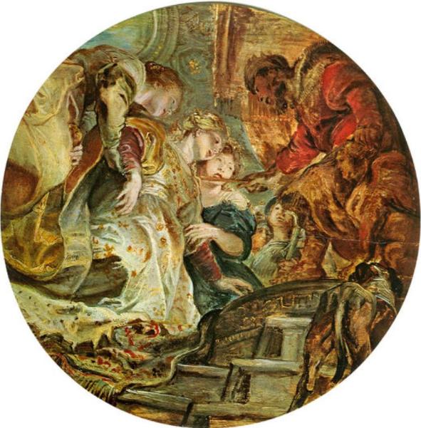 Эстер и Ахашверош. Тинторетто, 1606