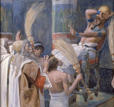 Казнь мошками. Джеймс Тиссо, 1896-1902
