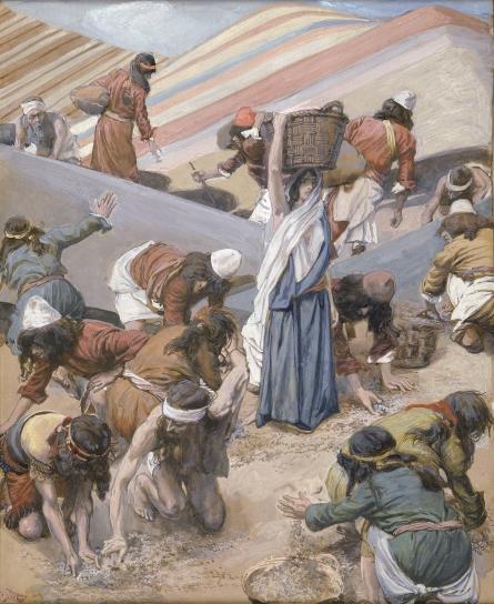 Сбор манны. Джеймс Тиссо, 1896-1902