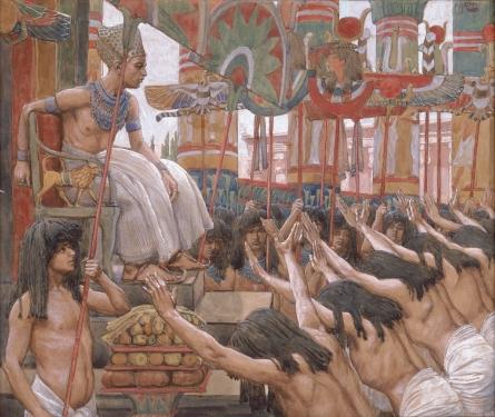 Йосеф в Египте. Джеймс Тиссо, 1896-1902