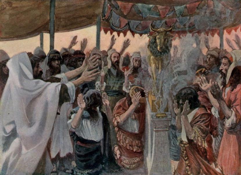 Золотой телец. Джеймс Тиссо, 1896-1902