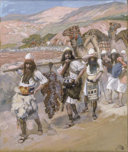 Виноградная ветвь из Ханаана. Джеймс Тиссо, 1896-1902