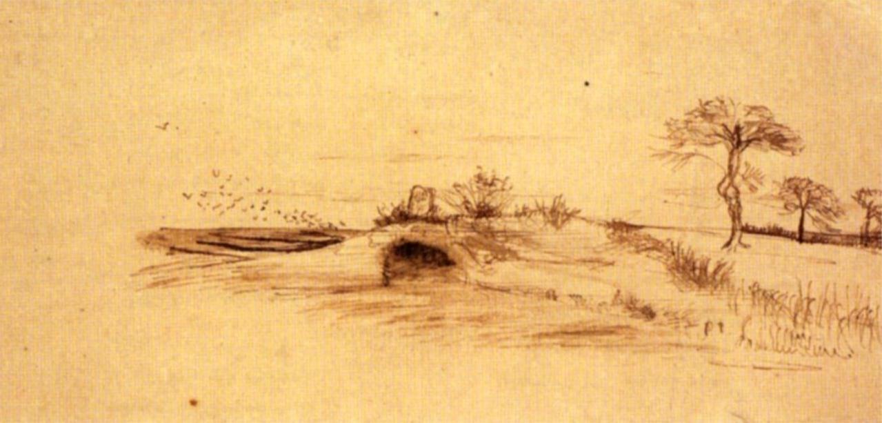 Пещера Махпела. Винсент ван Гог, 1877