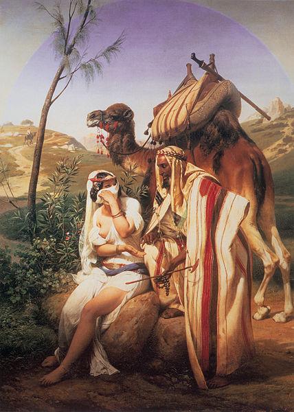 Йеуда и Тамар. Орас Верне, 1840