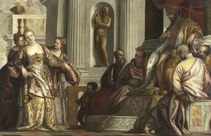 Эстер перед Ахашверошем. Паоло Веронезе, XVI в.