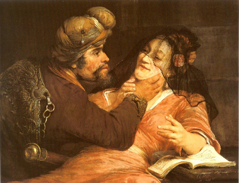 Йеуда и Тамар. Арент де Гелдер, 1667