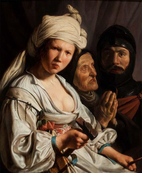 Яэль, Дебора и Барак. Саломон де Брай, 1635