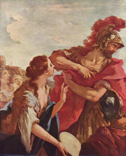 Возвращение Иеффая, Джиованни Антонио Пеллегрини (1675–1741)