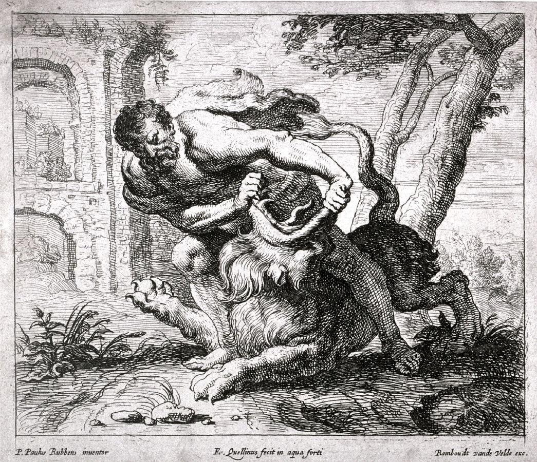 Эразм Квеллин Младший (ученик Рубенса), 17 в.