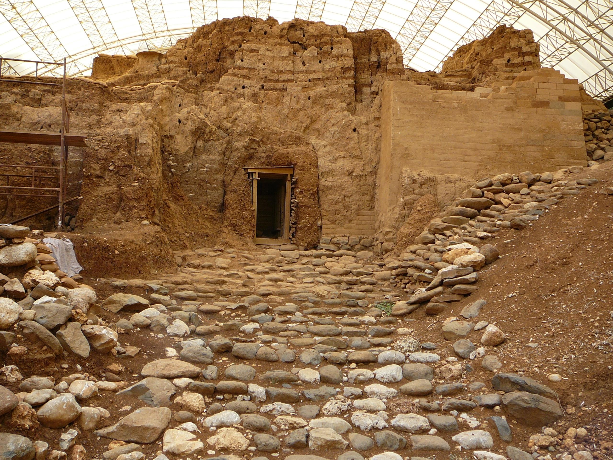 Остатки ханаанского города Лаиш. ( Израильский заповедник Тель Дан)