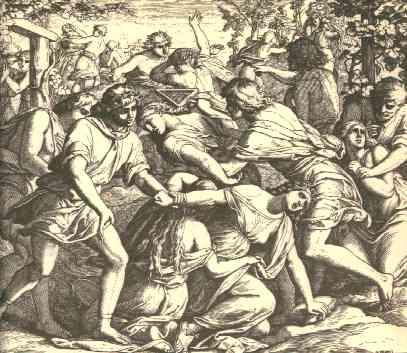 Иллюстрация к Библии  (Суд.21:23)