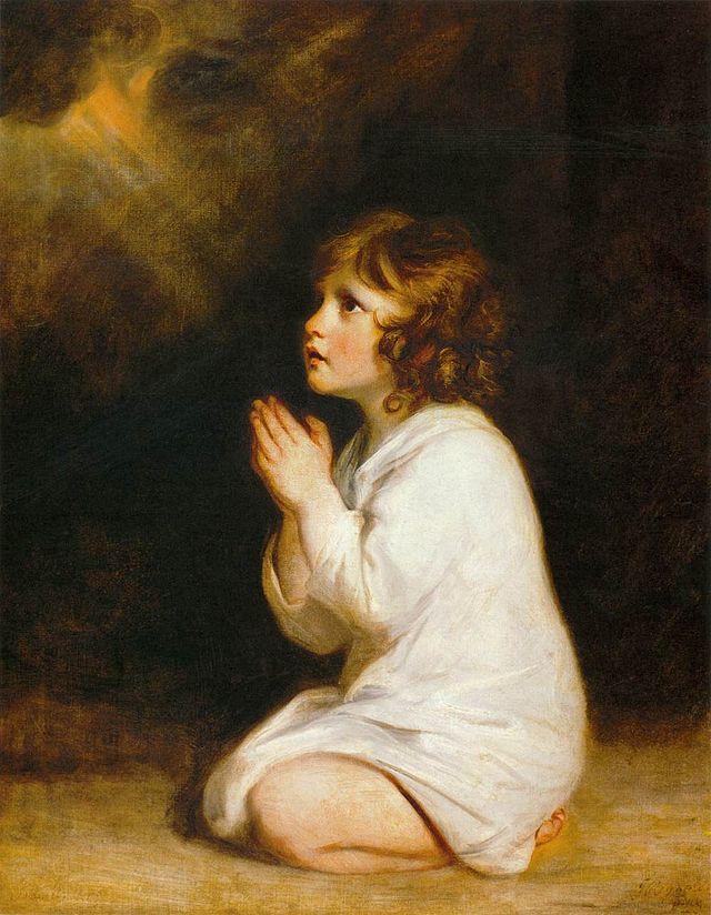Самуил. Джошуа Рейнольдс (1723 - 1792)
