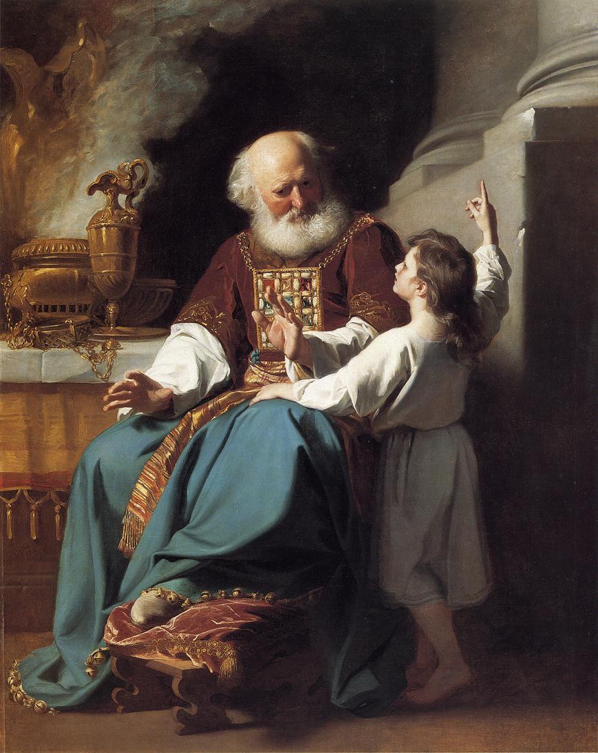 Эли и Шемуэль. Джон Синглтон Копли (1738-1815)