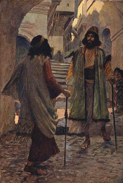 Самуил встречает Саула. Джеймс Тиссо, 1896-1900