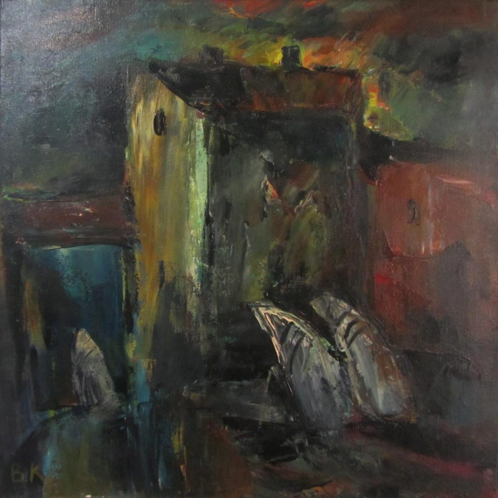 Вениамин Клецель - Илл. 6. К молитве (2011)