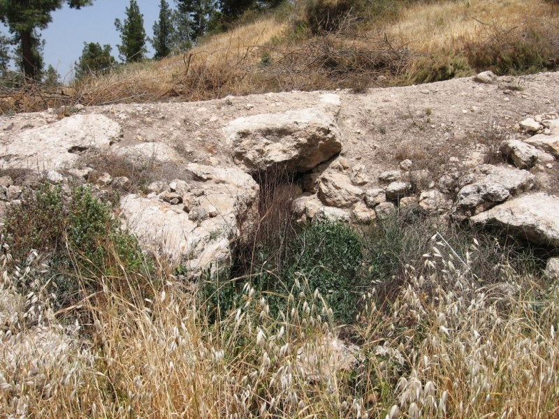 Вход в пещеру Адулам