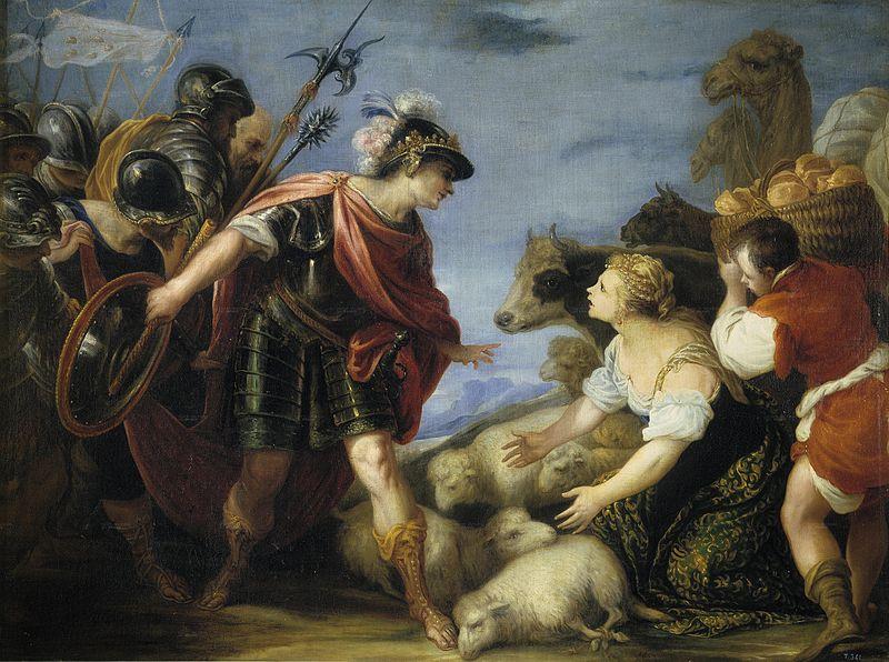 Хуан Антонио де Фриас-и-Эскаланте. Мудрость Авигеи, 1667