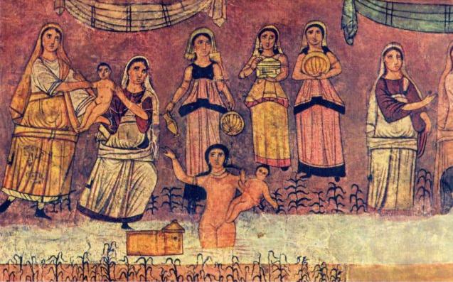 Дура- Европос Моисей