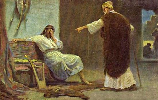 'Что же ты брезгуешь словом Господним и делаешь то, что ему ненавистно?' - Натан обличает Давида