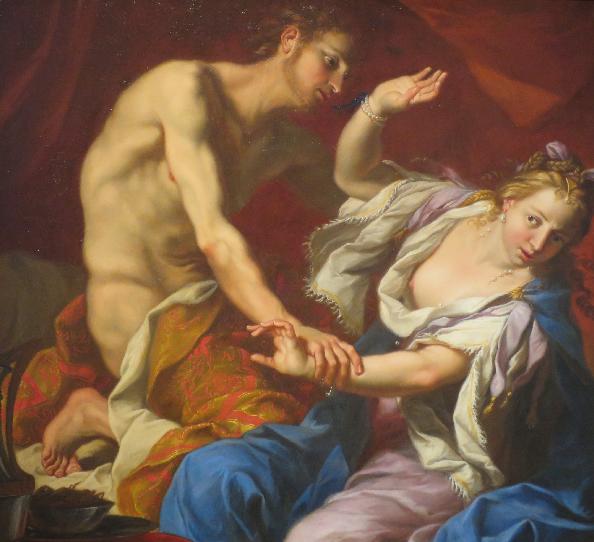 Изнасилование Тамар. Неизвестный художник,  17 в.