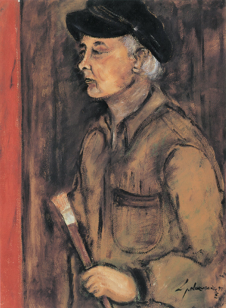 Симха Норнберг, Автопортрет, 1993 г.