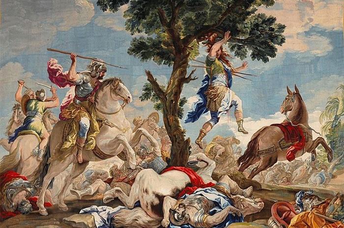 Гобелен из дворца Карла III, короля Испаниив в 1731—1734 гг.