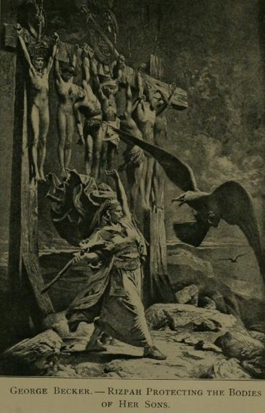 Г. Беккер, иллюстрация к Библии, 1900 г.