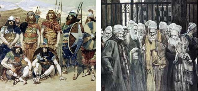 Использованы иллюстрации к Библии Джеймса Тиссо