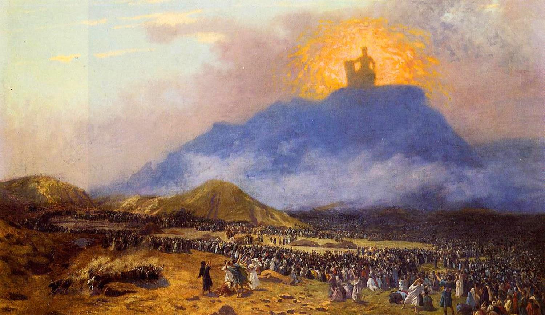 Жан-Леон Жером. Моисей на горе Синай (1885-1890)