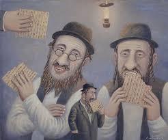 Владимир Любаров. Из серии 'Еврейское счастье' (Песах)