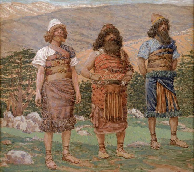 Шем, Хам и Йефет. Джеймс Тиссо (1836–1902)