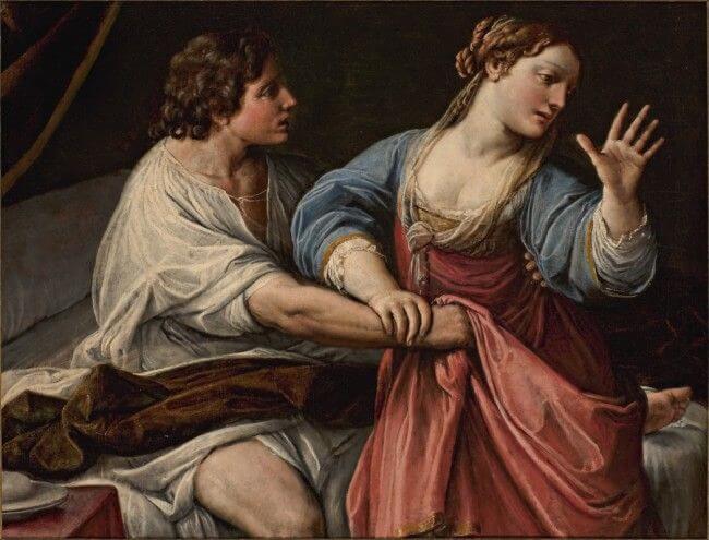 Амнон и Тамар. Алессандро Тиарини (1577—1668)