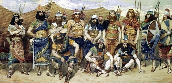 Храбрые люди Давидв. Джеймс Тиссо, 1896-1902