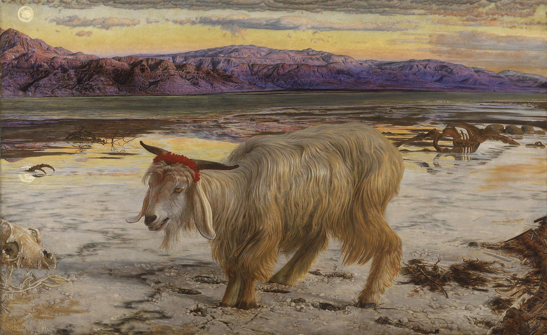Козел отпущения. Вильям Холман Хант, ( 1827 - 1910)