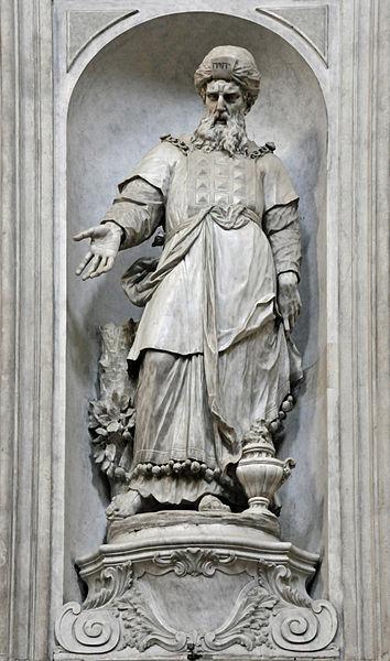 Аарон. Джованни Мария Морлайтер, XVIII в.