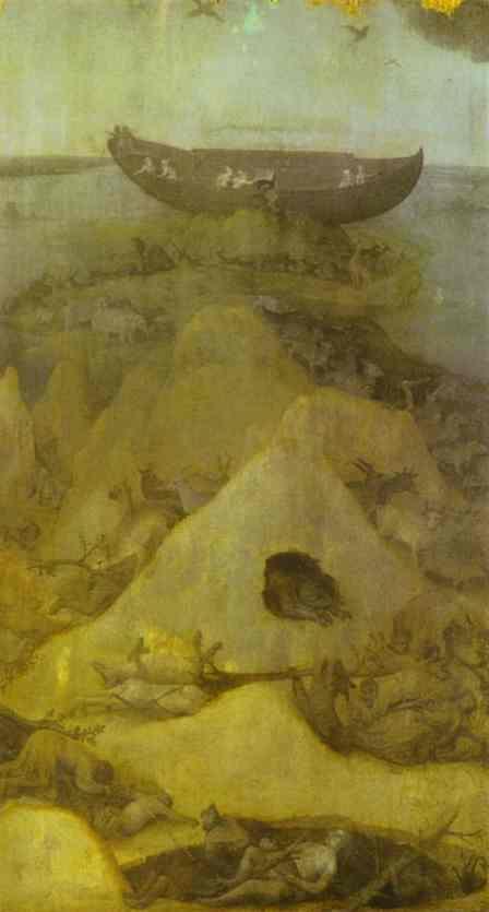 Мир после потопа. Иероним Босх, ок. 1514