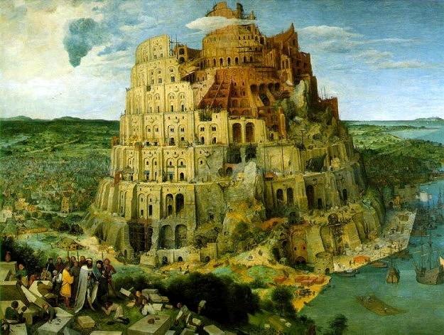 Вавилонская башня. Питер Брейгель Старший, 1563