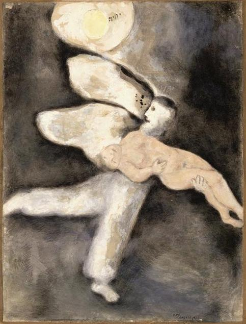 И сотворил Бог человека. Марк Шагал, 1931