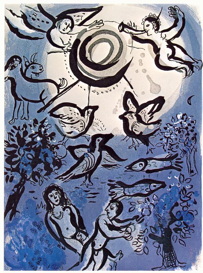 Сотворение мира. Марк Шагал, 1960