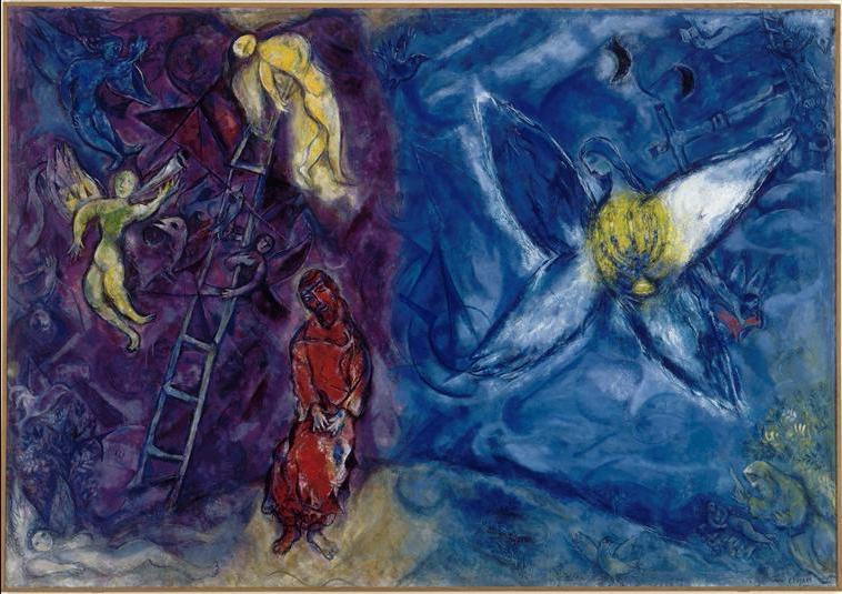 Сон Йаакова. Марк Шагал, 1966