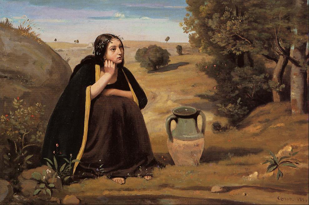 Ривка. Камиль Коро, 1839