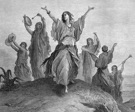 «Дочь Ифтаха», Гюстав Доре