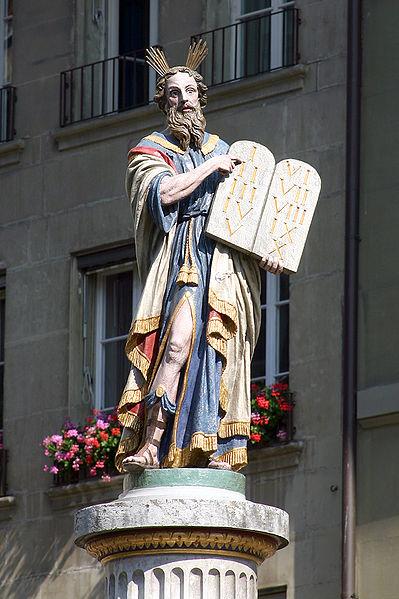 Моше. Фонтан в г. Берн (Швейцария), 1544