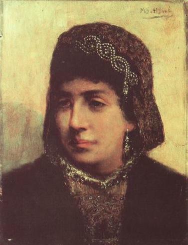 Еврейская невеста. Мауриций Готтлиб, 1876