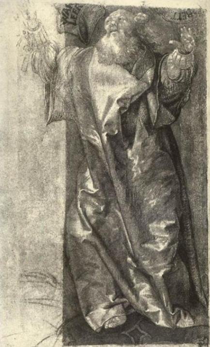 Моше. Маттиас Грюневальд, ок. 1511