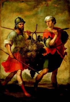 Йеошуа и Калев. Матиас де Артеага и Альфаро, 1690