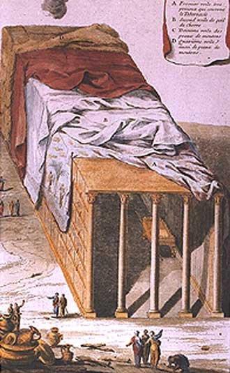 Скиния. Гравюра А. Кальме, 1725