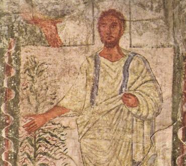 «Моисей», фреска синагоги Дура-Европос