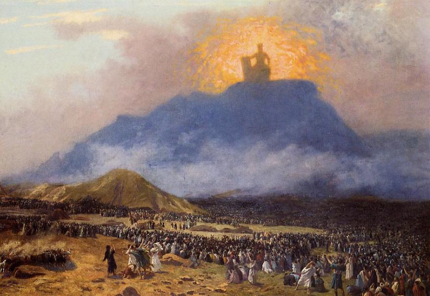 «Моше на горе Синай», Жан-Леон Жером