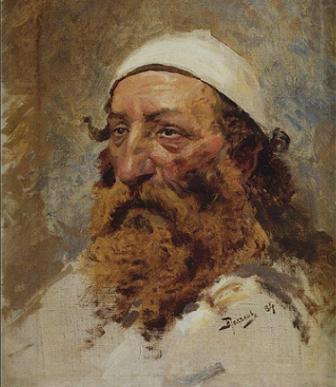 Голова еврея. Василий Поленов, 1884